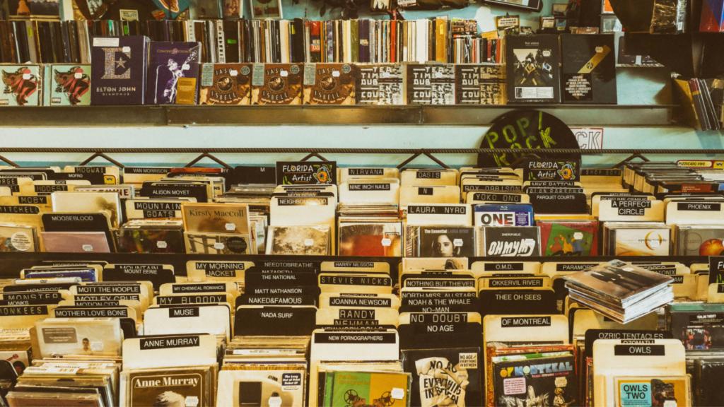 Music CD store